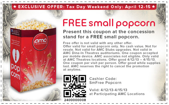 amc theater promo code