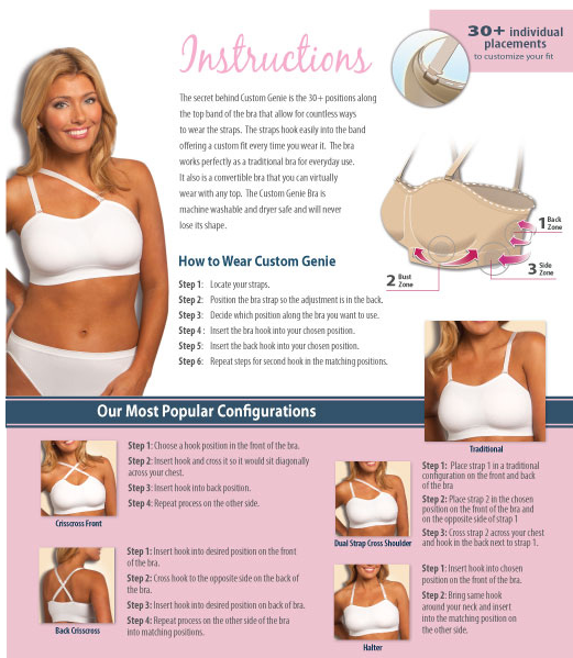 3c47abb24b Product Review  Custom Genie Bra
