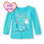 childrens place snowman top w price