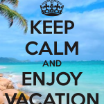 vacation keep calm