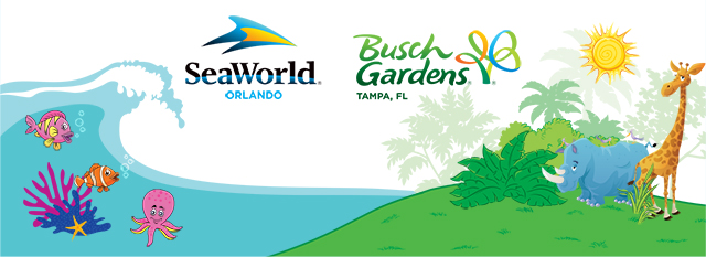 Free Sea World Busch Gardens Preschooler Passes
