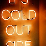 cold sign