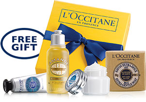 Free Gift For You and Two Friends at L'Occitane