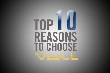 Volt Top Ten Reasons