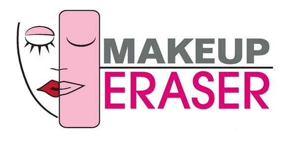 make up eraser logo