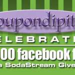 coupondipity facebook fan giveaway
