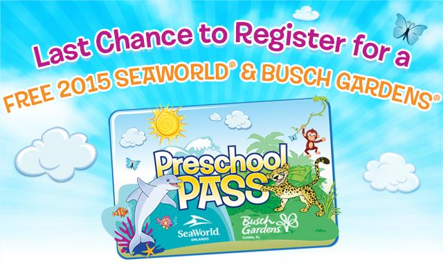 Busch Gardens Seaworld Preschool Pass Fasci Garden