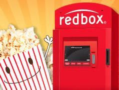 redbox with popcorn