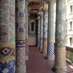 Columns in Barcelona
