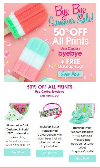 make up prints